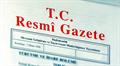 Resmi Gazate